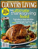 The cover of Country magazine - click to view larger