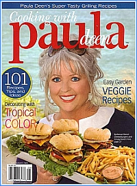 Paula Deen magazine cover - click to view larger