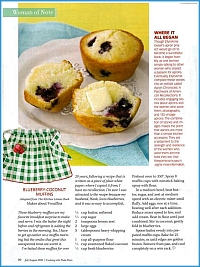 Paula Deen magazine article  - click to view larger