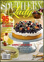 The cover of Southern Lady magazine - click to view larger