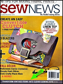 Sew News - Oct-Nov 2012 issue