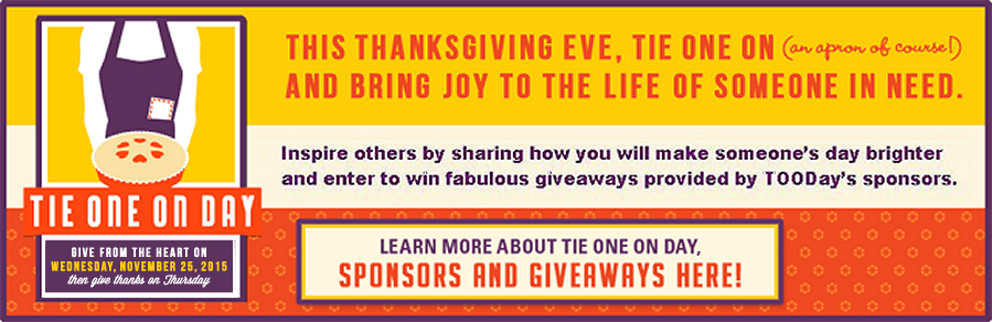 2015 Tie One On Day - Learn more abut the sponsors and giveaways here
