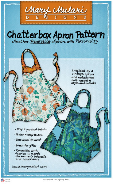 Chatterbox apron kit