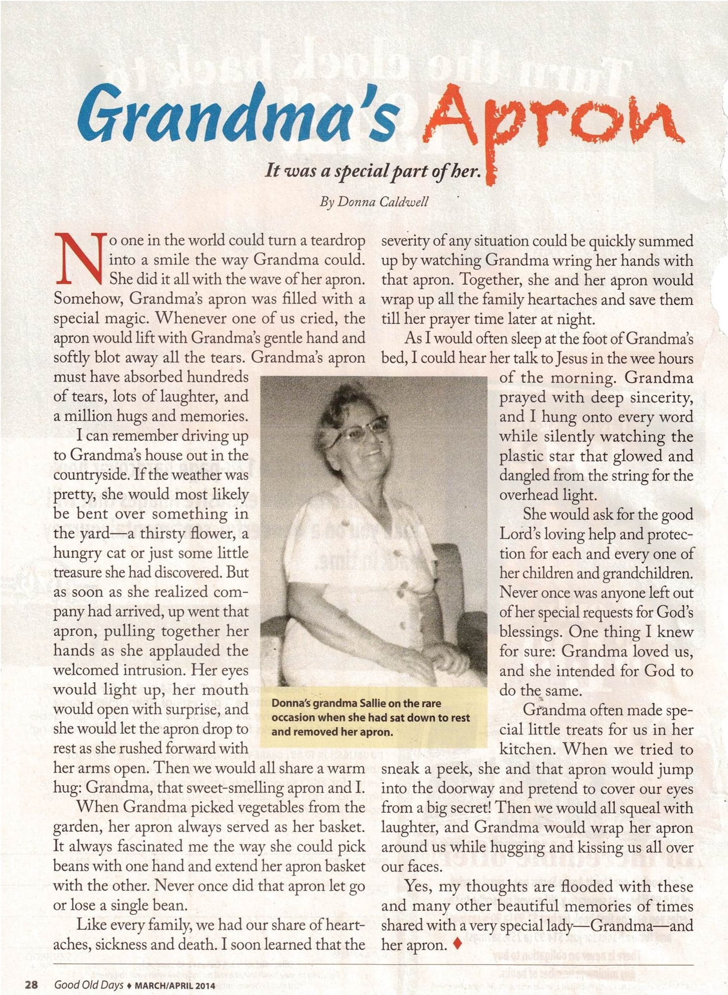 White apron near me