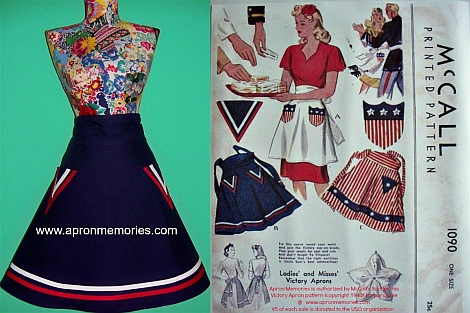 McCall's Victory Apron