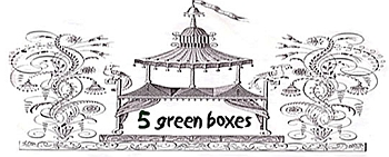 5 Green Boxes
