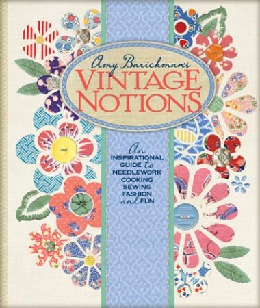 Vintage Notions book giveaway