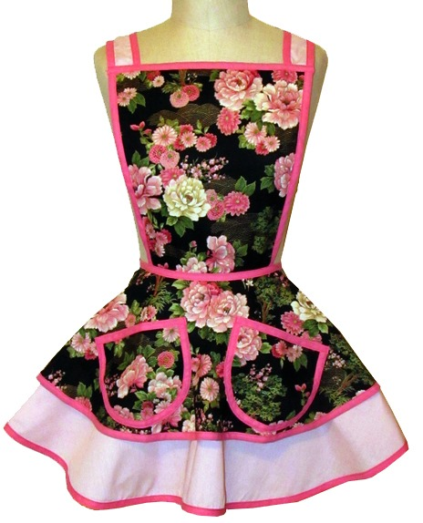 Betty Apron Vintage Floral