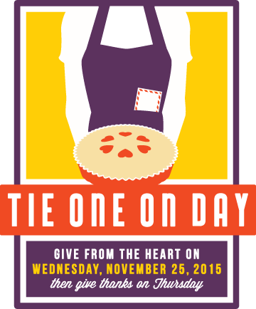 November 25, 2015 - Tie One On Day