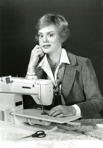 Nancy Zieman press photo from 1982
