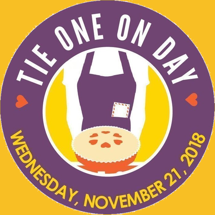 November 21, 2018 - Tie One On Day