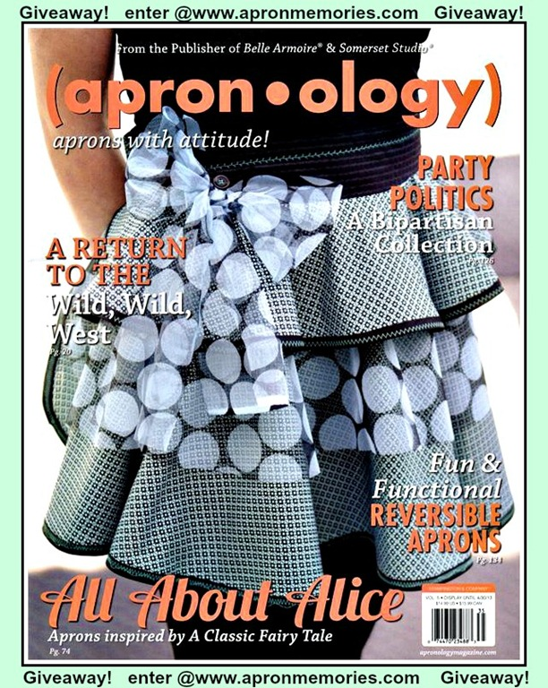 apronology 2013 cover giveaway www