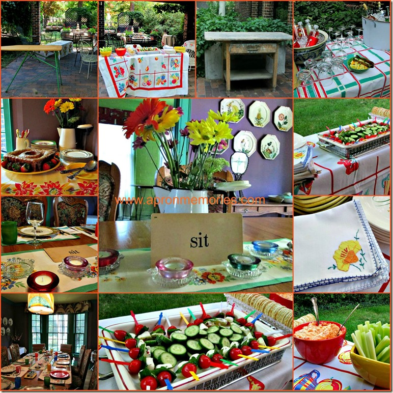 Summer Dinner Party Collage Final www